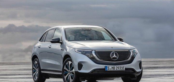 Mercedes'in ilk elektrikli otomobili