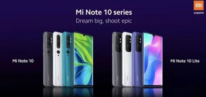 Xiaomi Mi Note 10 Lite Modeli 30 Nisan Tarihinde Tanıtılacak