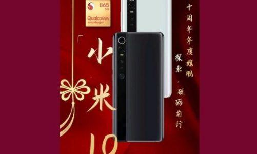 Xiaomi Mi 10 İle İlgili Tanıtım Görseli Ortaya Çıktı