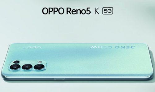 OPPO Reno5 K 5G Tanıtıldı! İşte Fiyatı ve Özellikleri